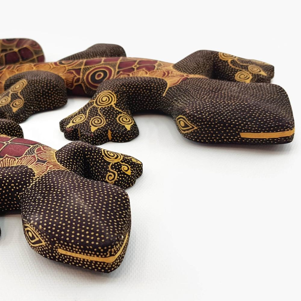 Escultura Lagartixa Batik - Foto 4