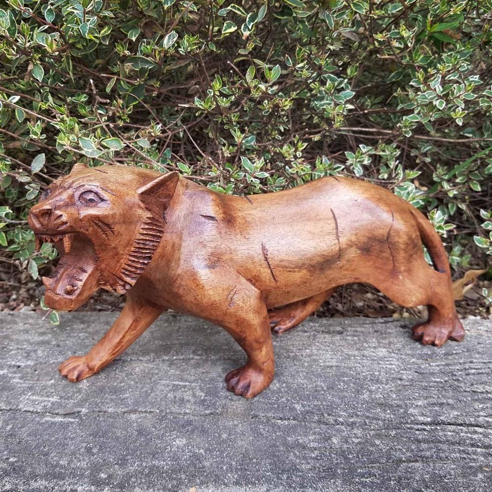 Escultura Tigre 30cm - Foto 1