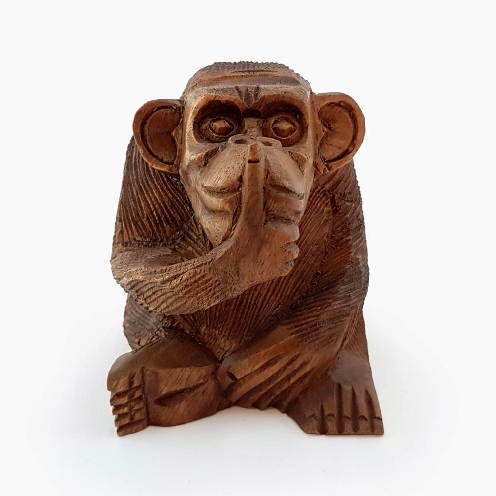 Escultura Macaco 11cm - Foto 2