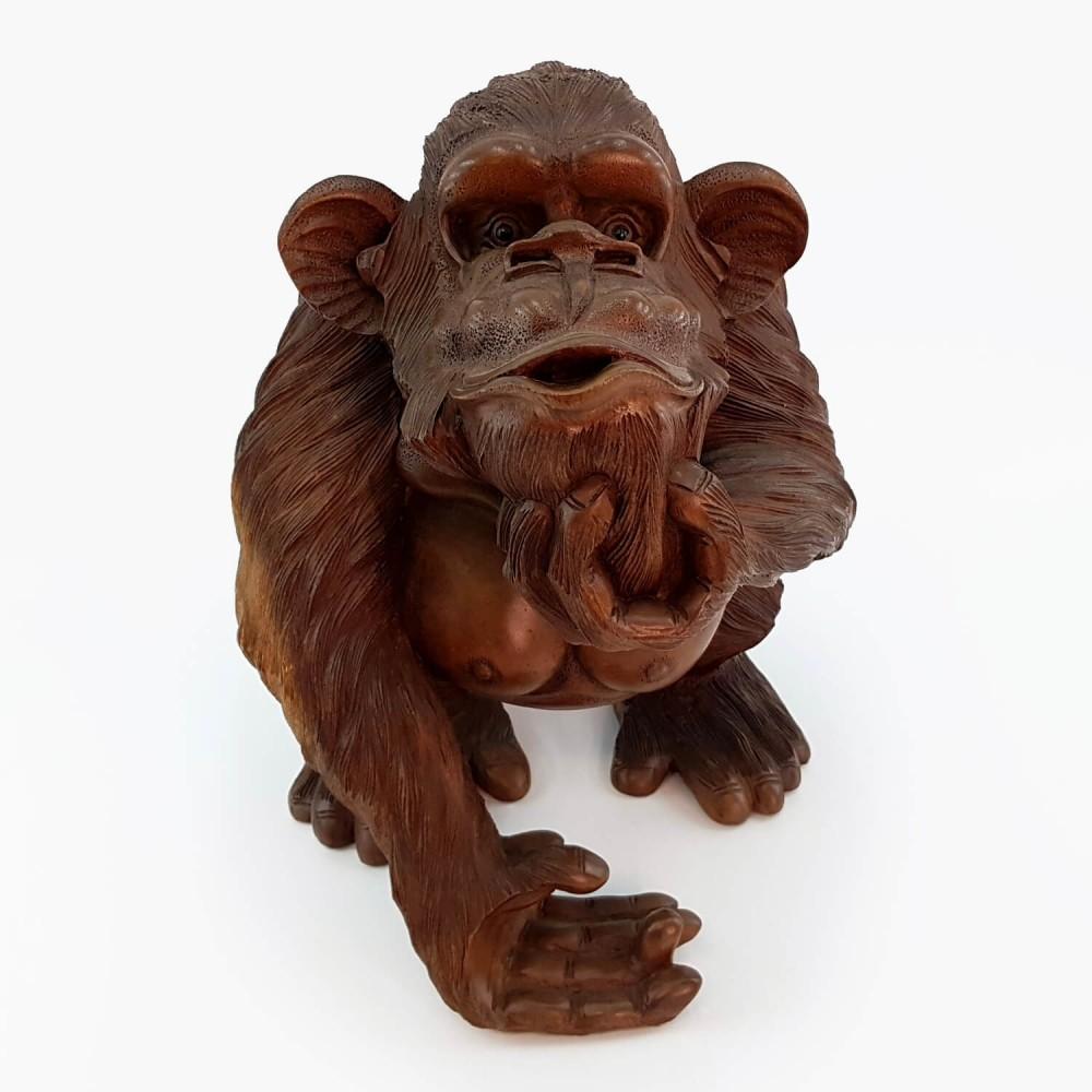 Escultura Macaco 42cm - Foto 2