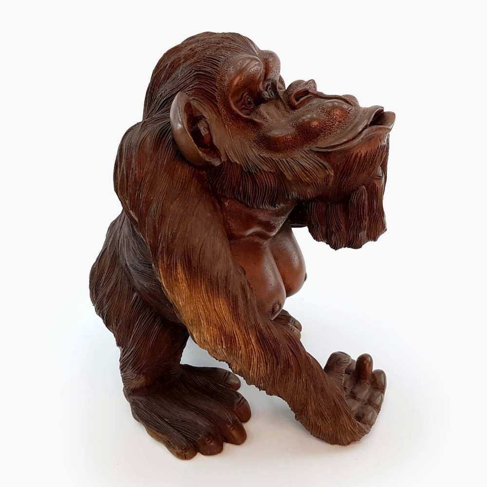 Escultura Macaco 42cm - Foto 3