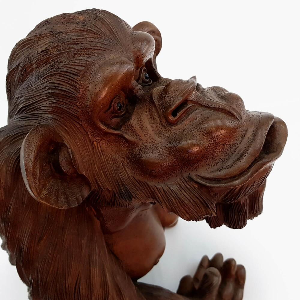 Escultura Macaco 42cm - Foto 4