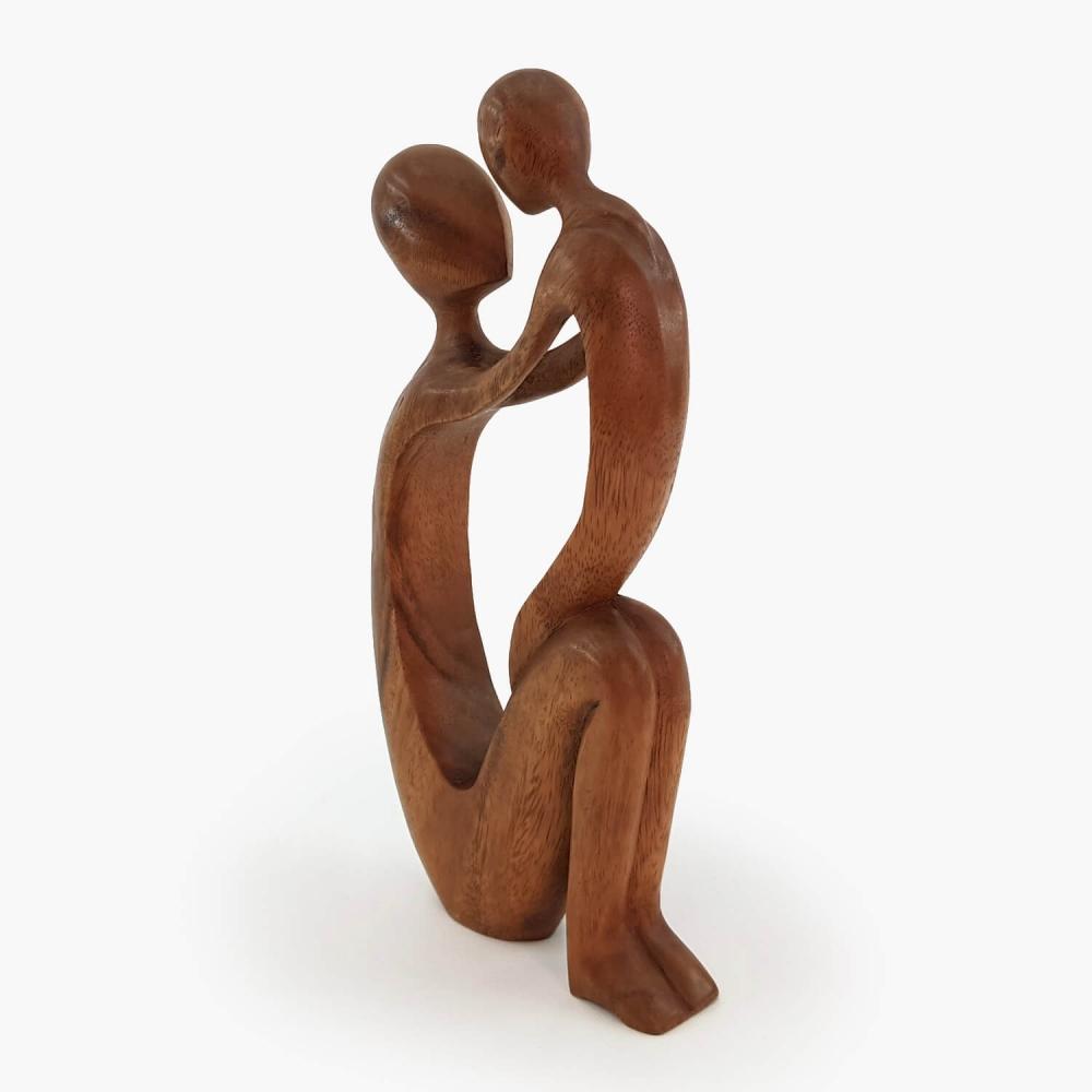 Escultura Mãe e Filho 30cm - Foto 3