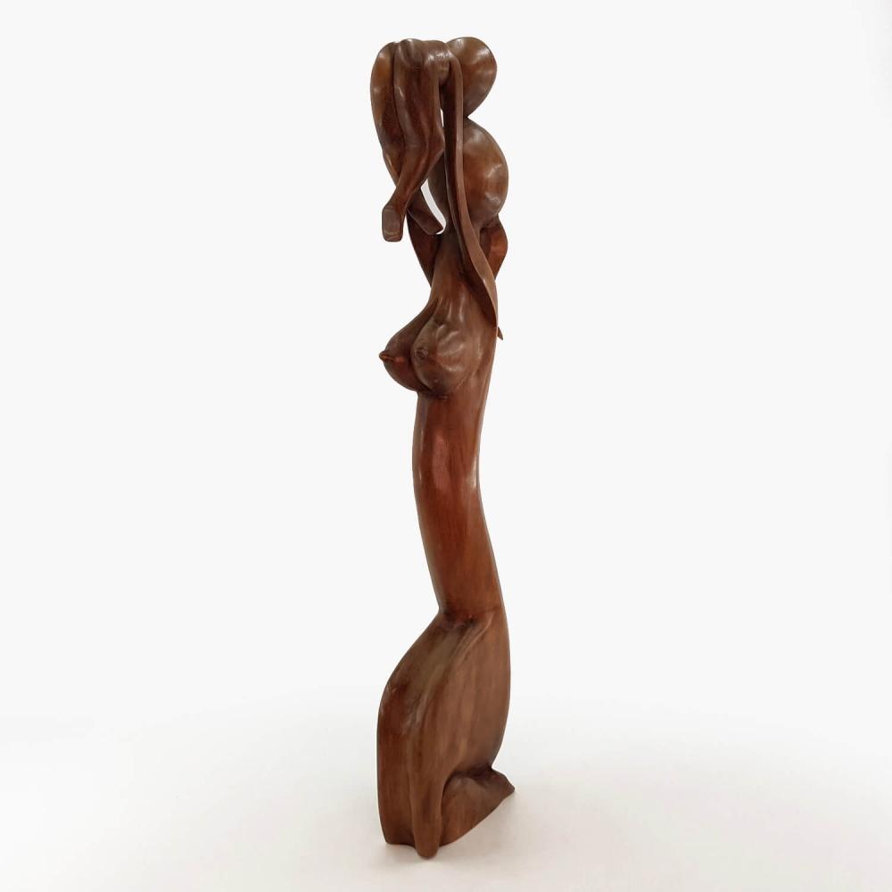 Escultura Mãe e Filho 80cm - Foto 3