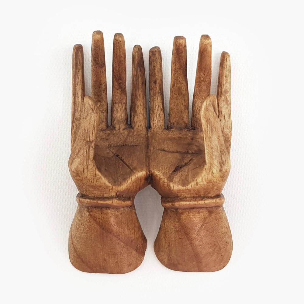Escultura Mão 20cm - Foto 3