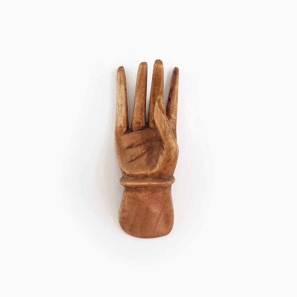 Escultura Mão 10cm - Foto 3