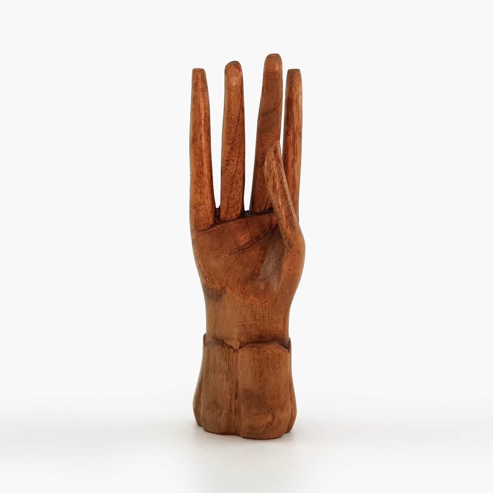 Escultura Mão 15cm - Foto 1
