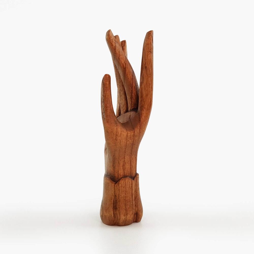 Escultura Mão 15cm - Foto 3