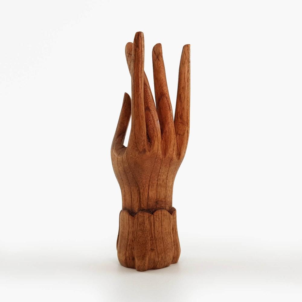 Escultura Mão 15cm - Foto 4