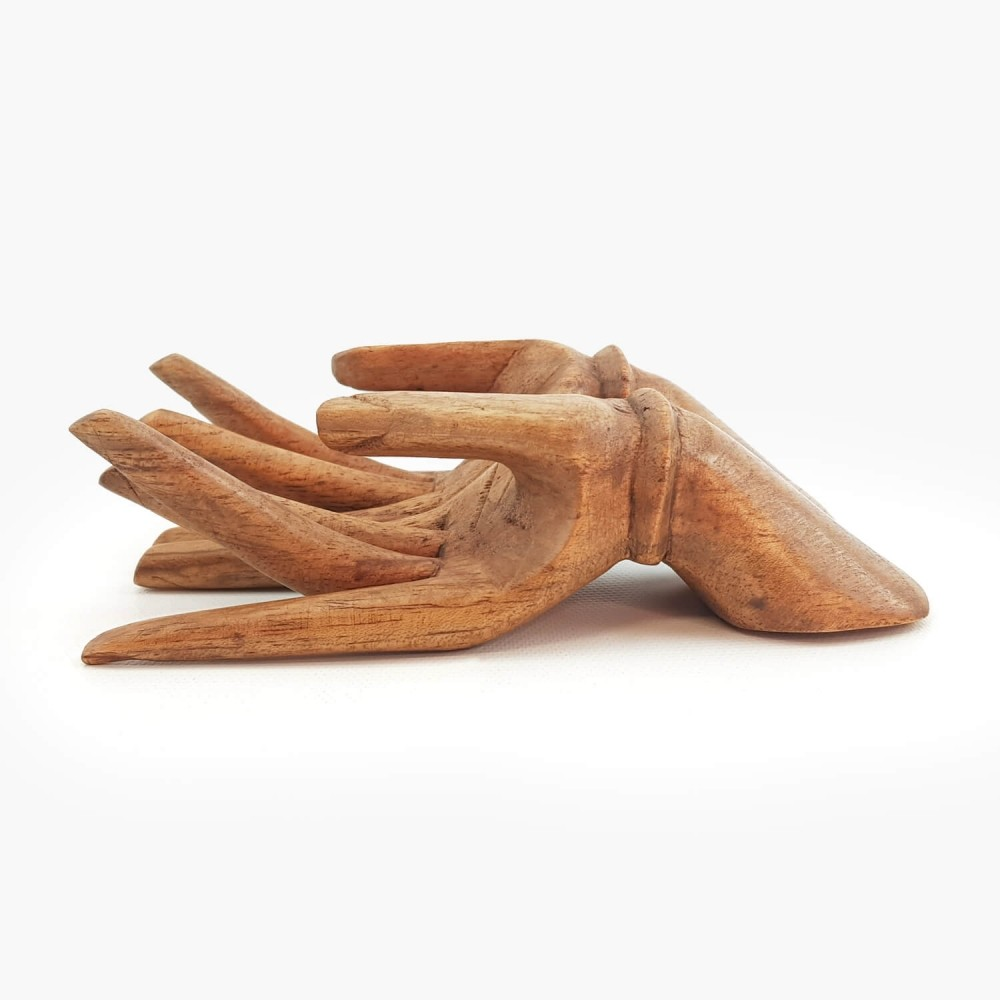 Escultura Mão 15cm - Foto 2