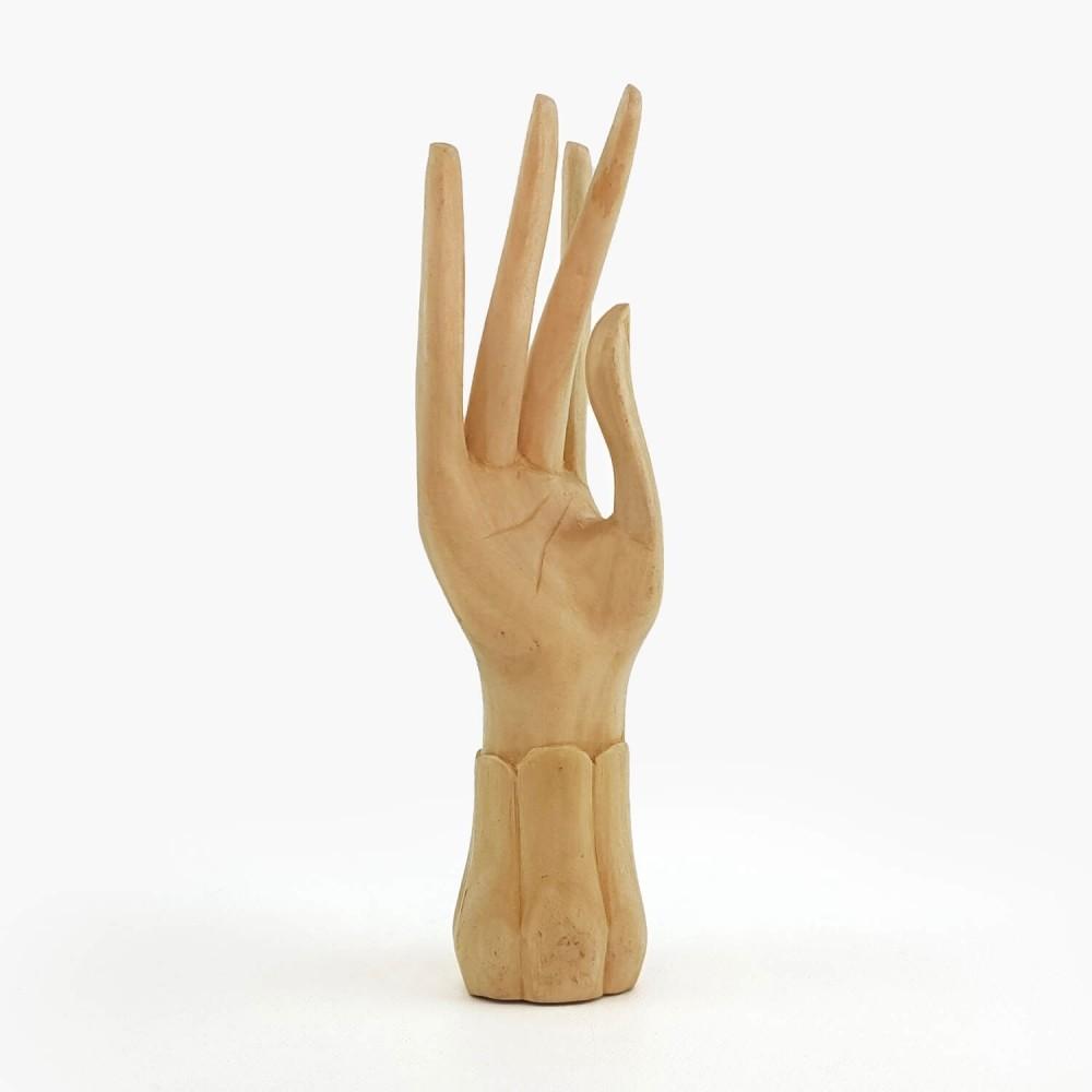 Escultura Mão 20cm - Foto 1