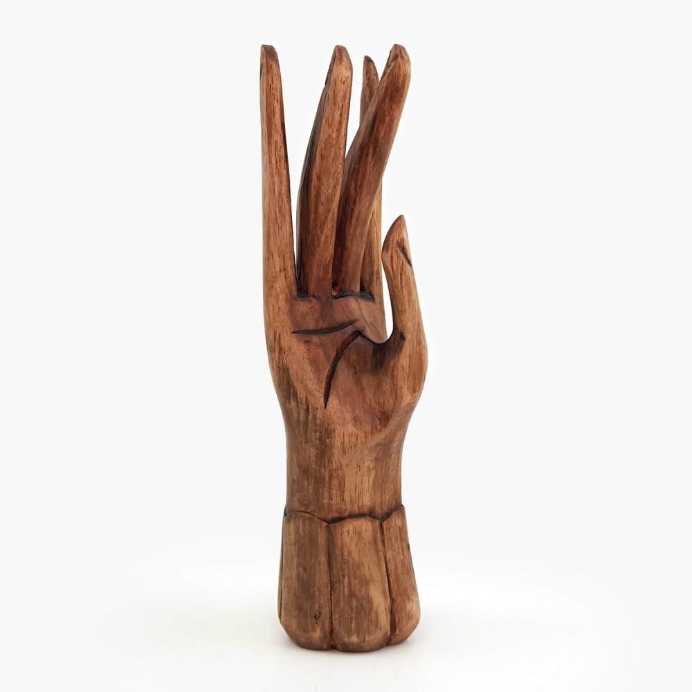 Escultura Mão 25cm - Foto 1