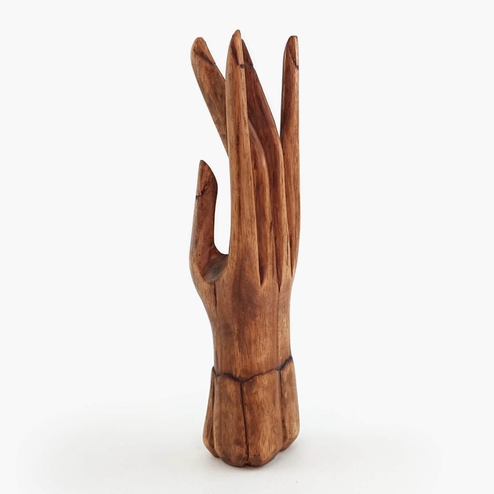 Escultura Mão 25cm - Foto 2