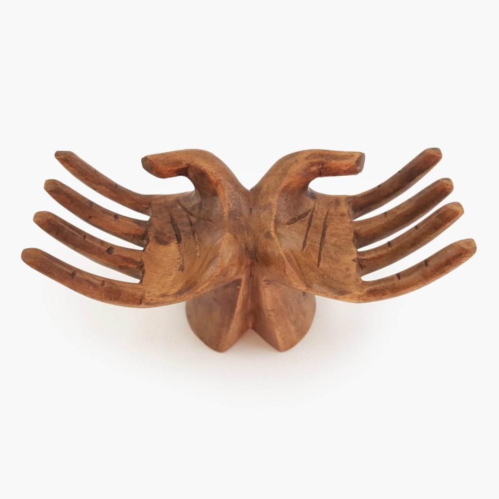 Escultura Mão Dupla 19cm - Foto 3
