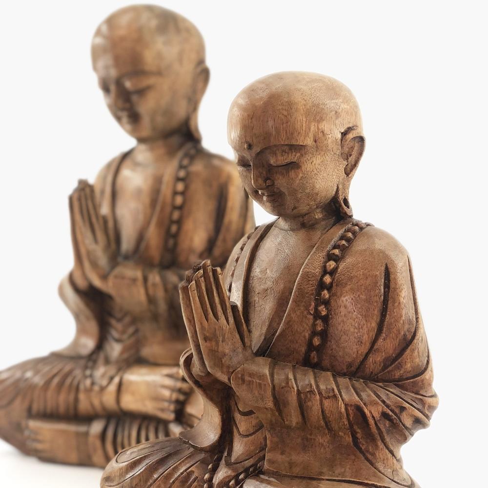 Escultura Monge - Foto 2