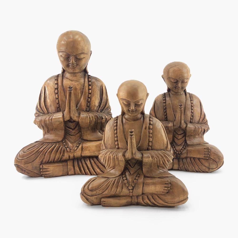 Escultura Monge - Foto 3