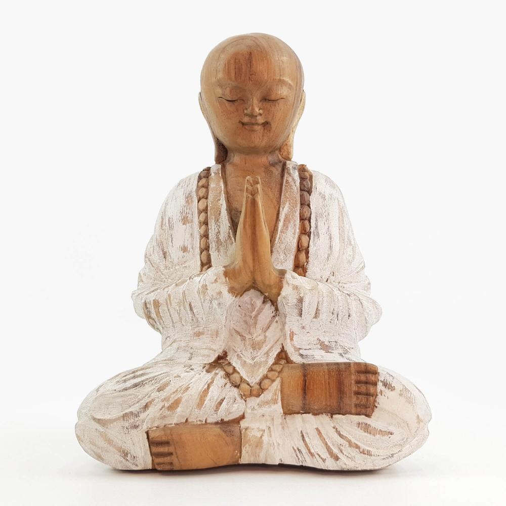 Escultura Monge 25cm - Foto 1