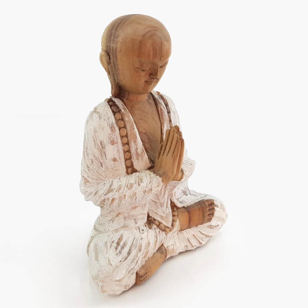 Escultura Monge 25cm - Foto 2