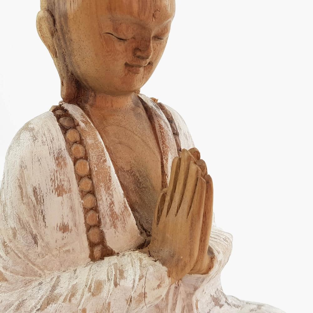 Escultura Monge 25cm - Foto 3