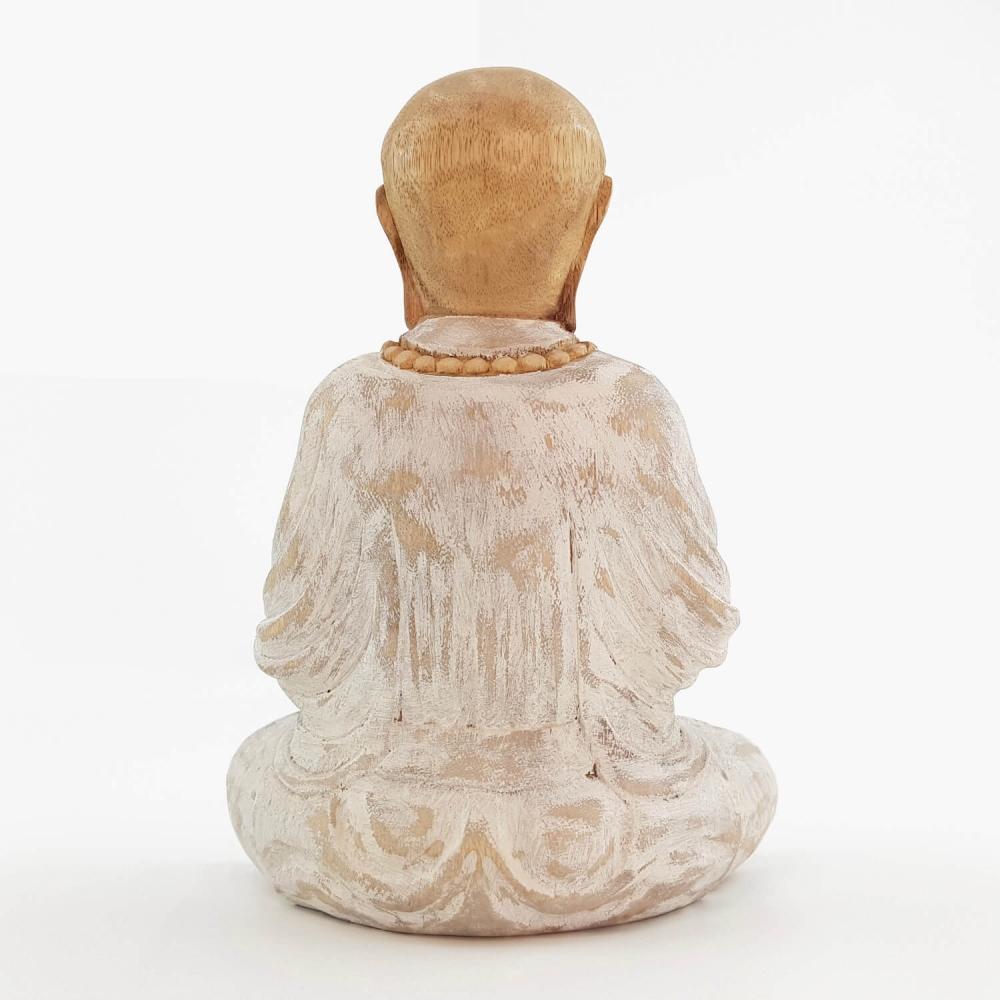 Escultura Monge 25cm - Foto 4