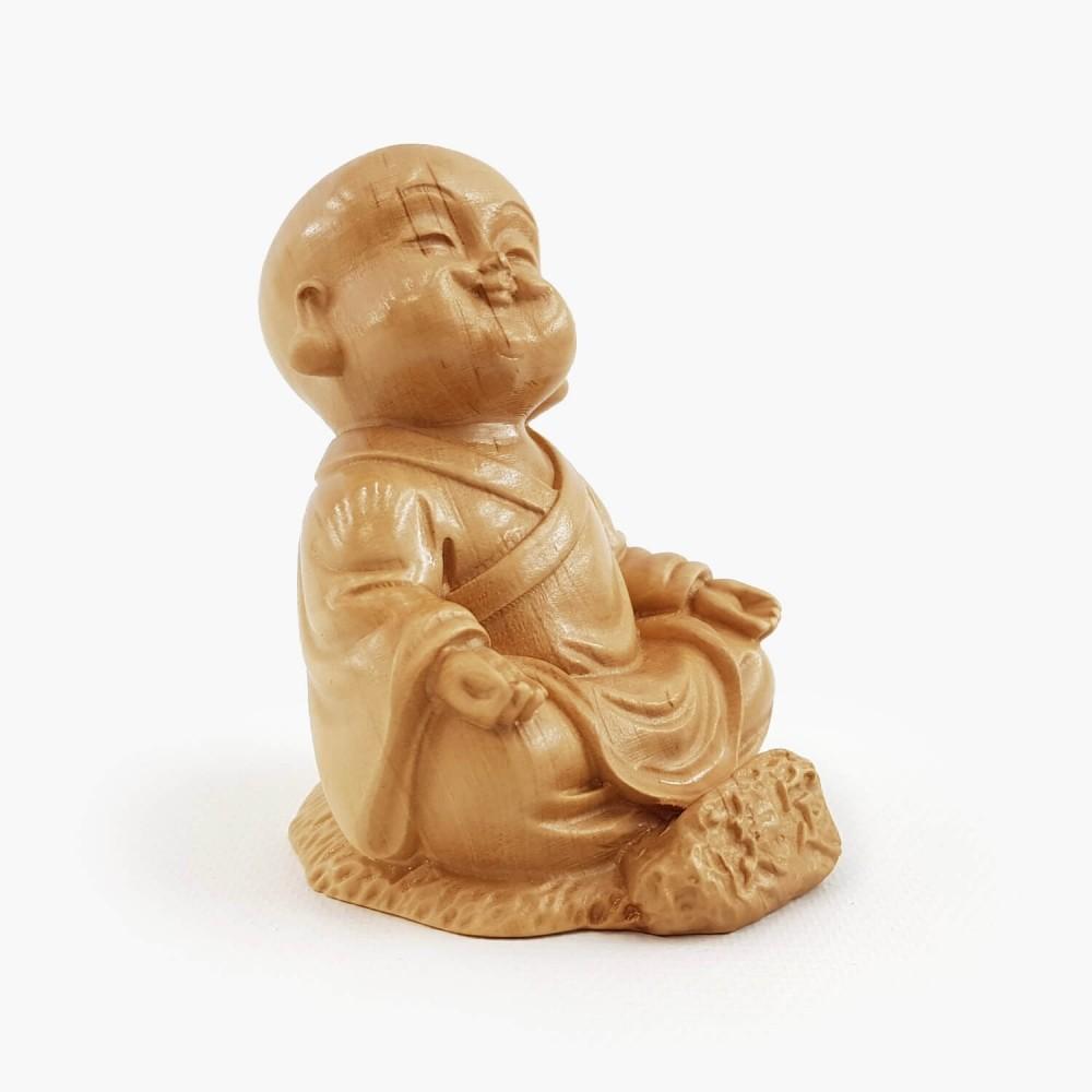 Escultura Monge 6cm - Foto 2