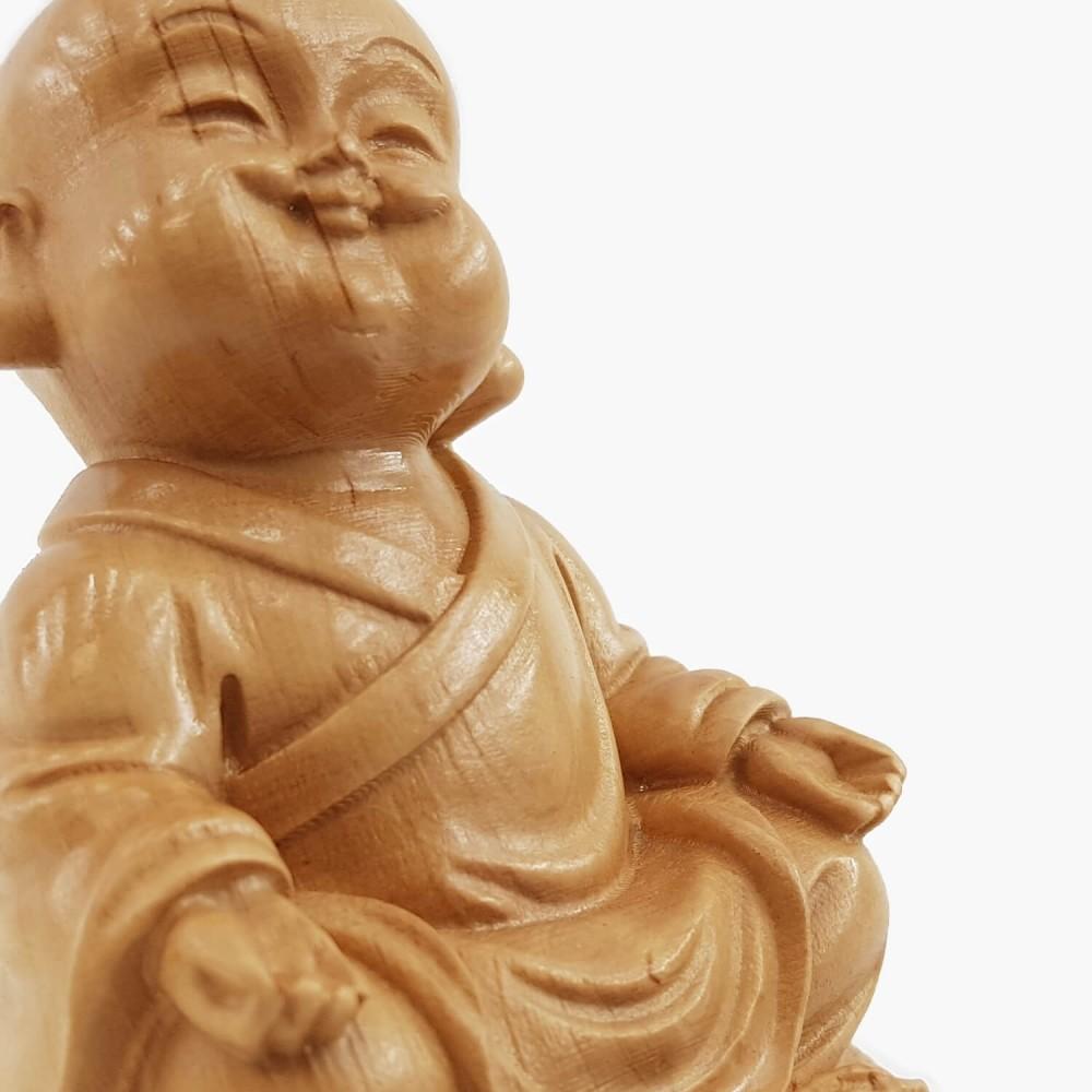 Escultura Monge 6cm - Foto 3