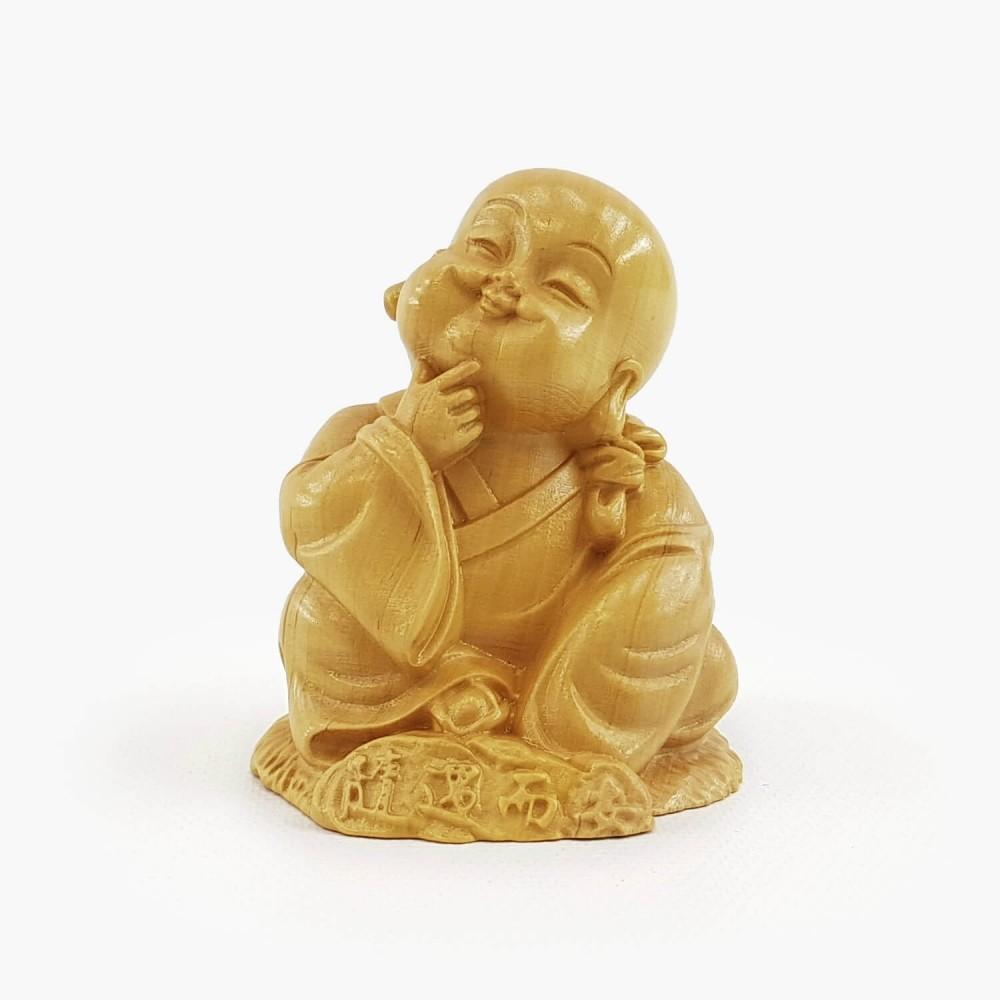 Escultura Monge 6cm - Foto 1