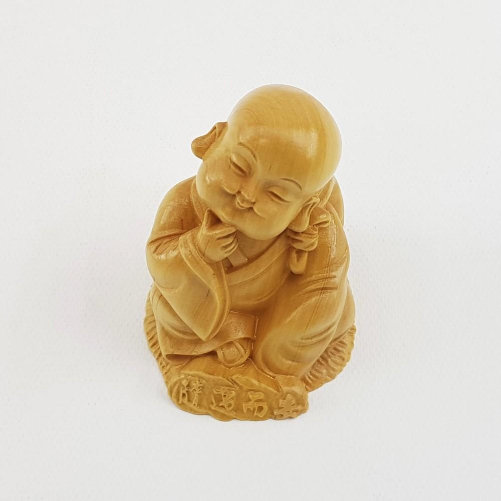 Escultura Monge 6cm - Foto 4