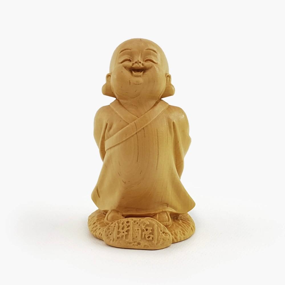 Escultura Monge 8cm - Foto 1