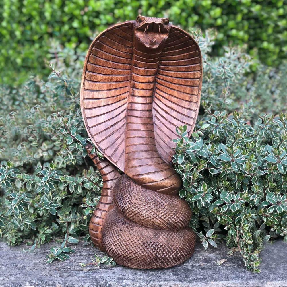 Escultura Naja - Foto 1