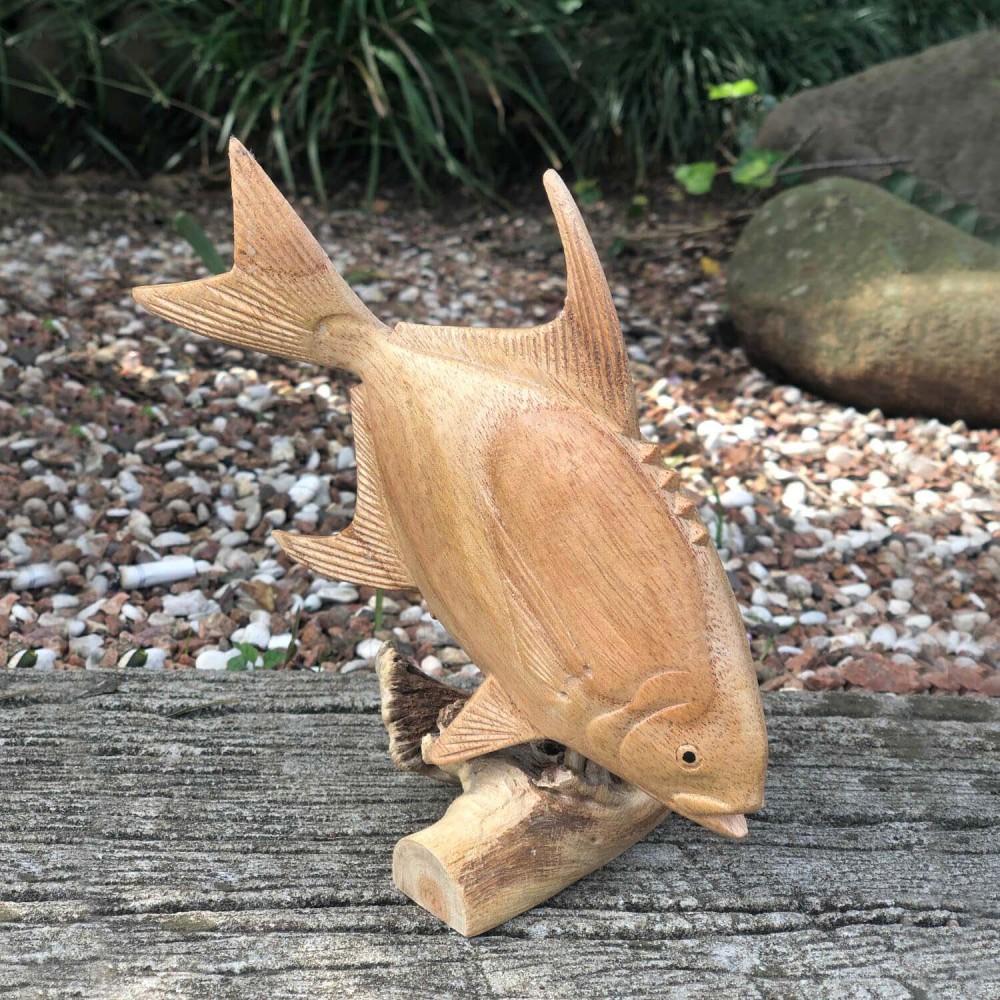 Escultura Peixe 17cm - Foto 1