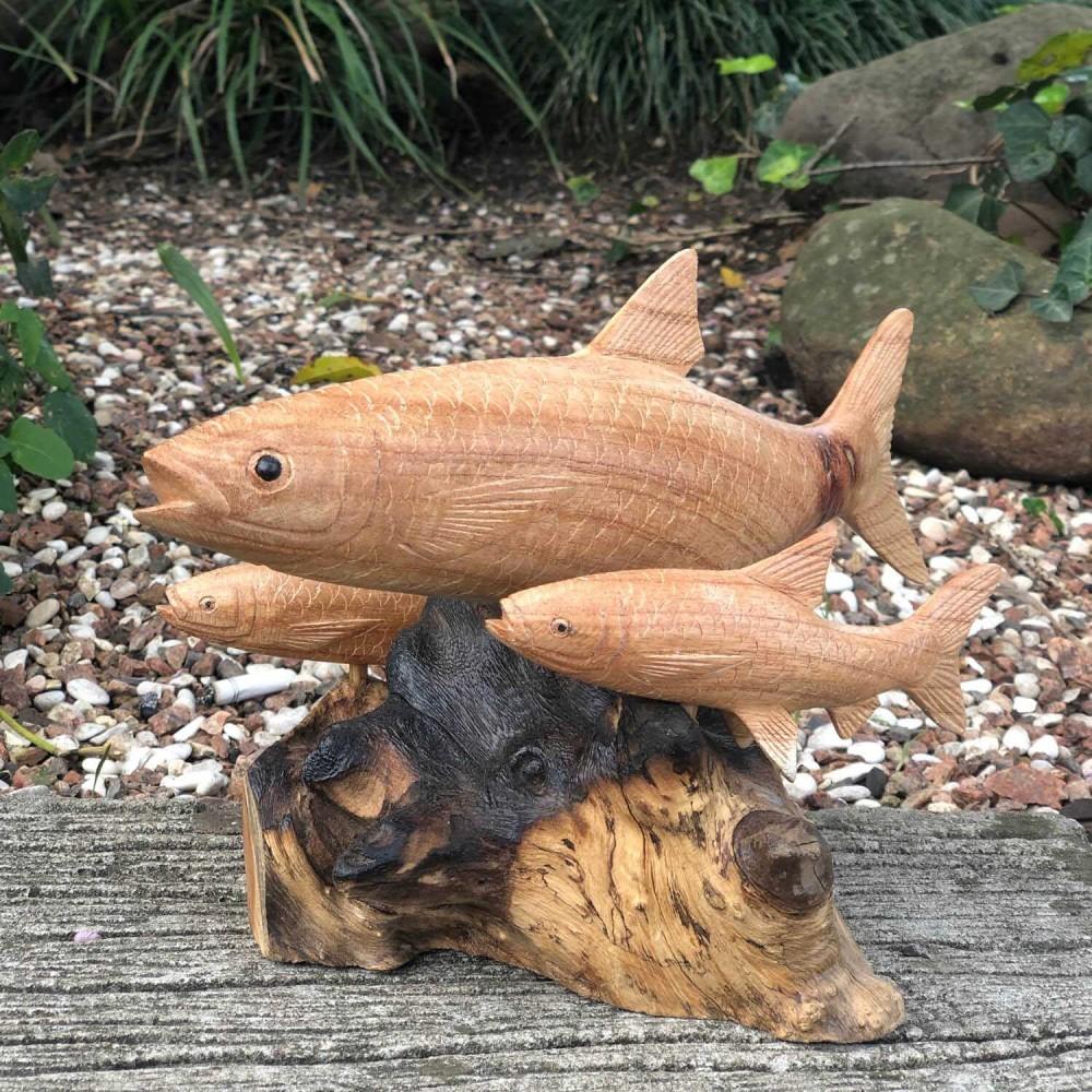 Escultura Peixe 18cm - Foto 1