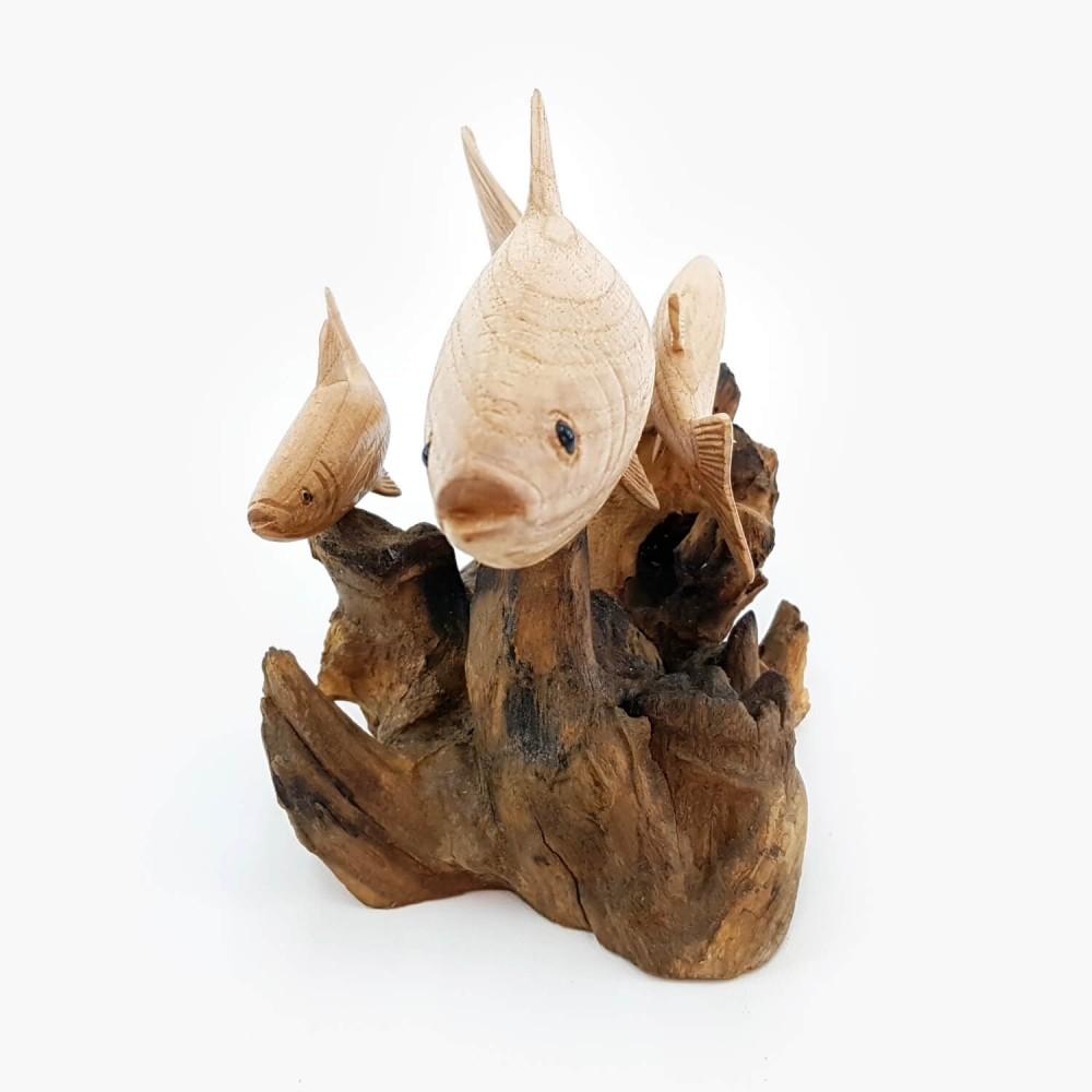 Escultura Peixe 18cm - Foto 2
