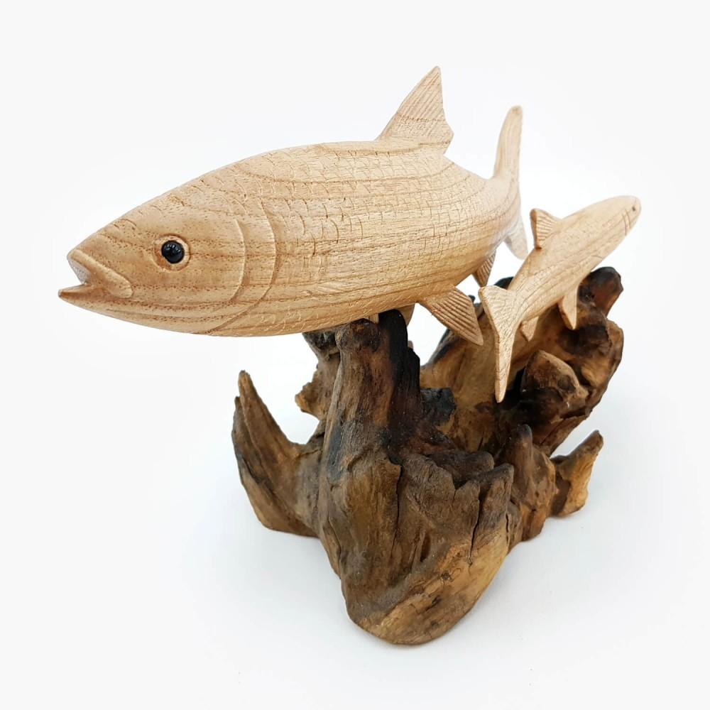 Escultura Peixe 18cm - Foto 3