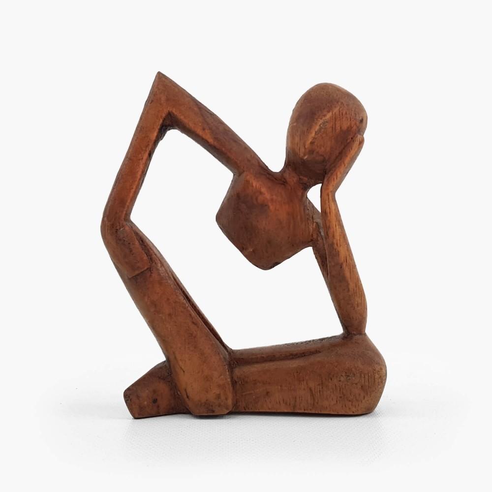 Escultura Pensativo 10cm - Foto 1