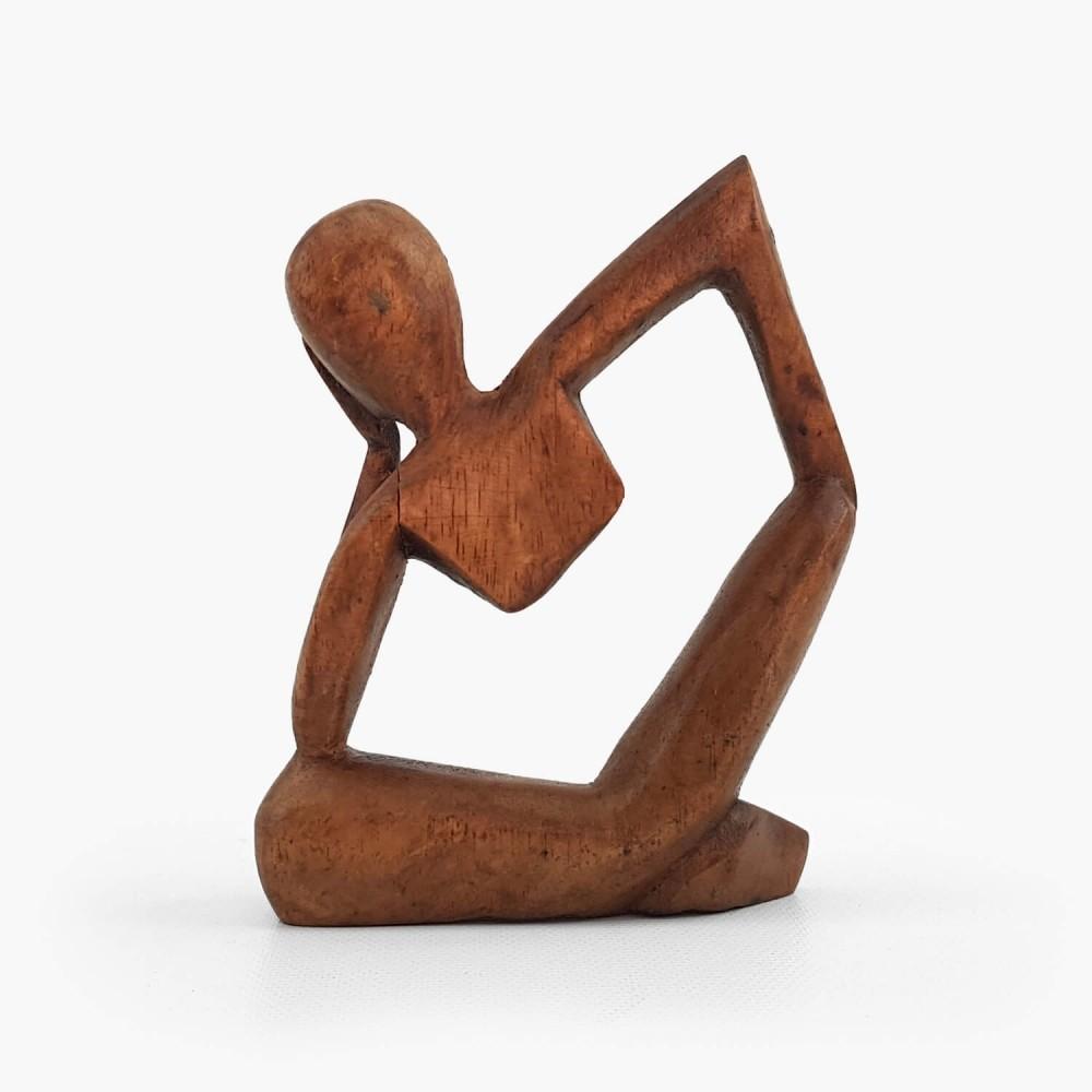 Escultura Pensativo 10cm - Foto 2