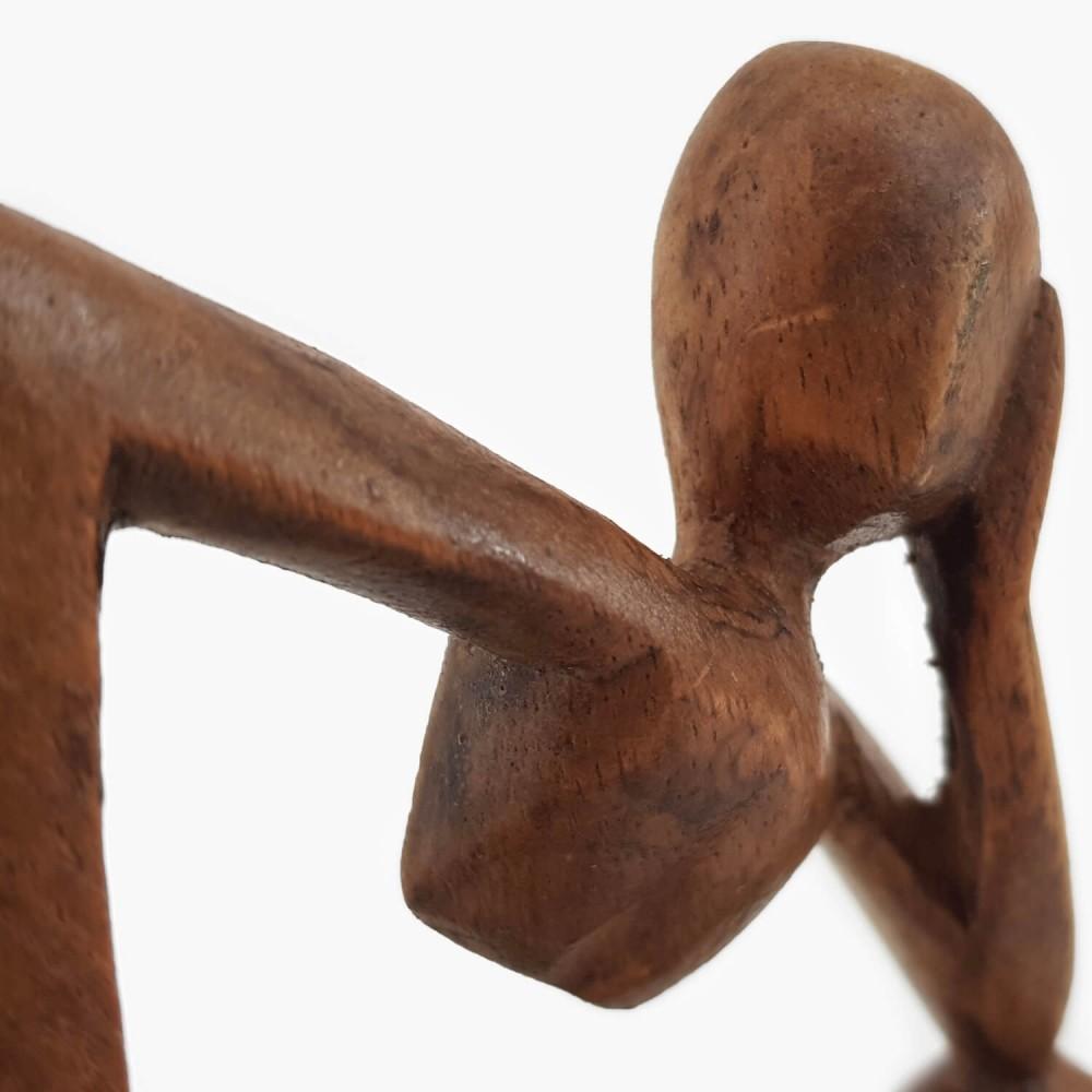 Escultura Pensativo 10cm - Foto 4