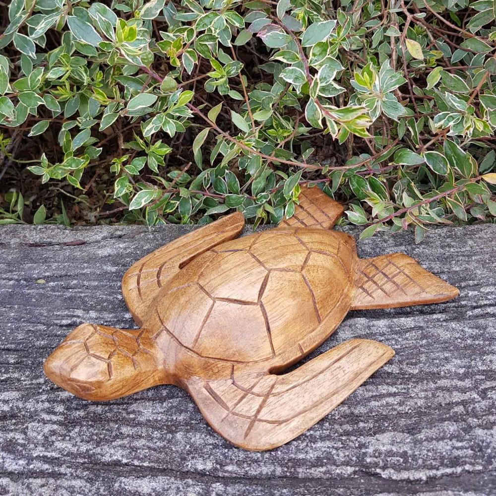 Escultura Tartaruga 20cm - Foto 1