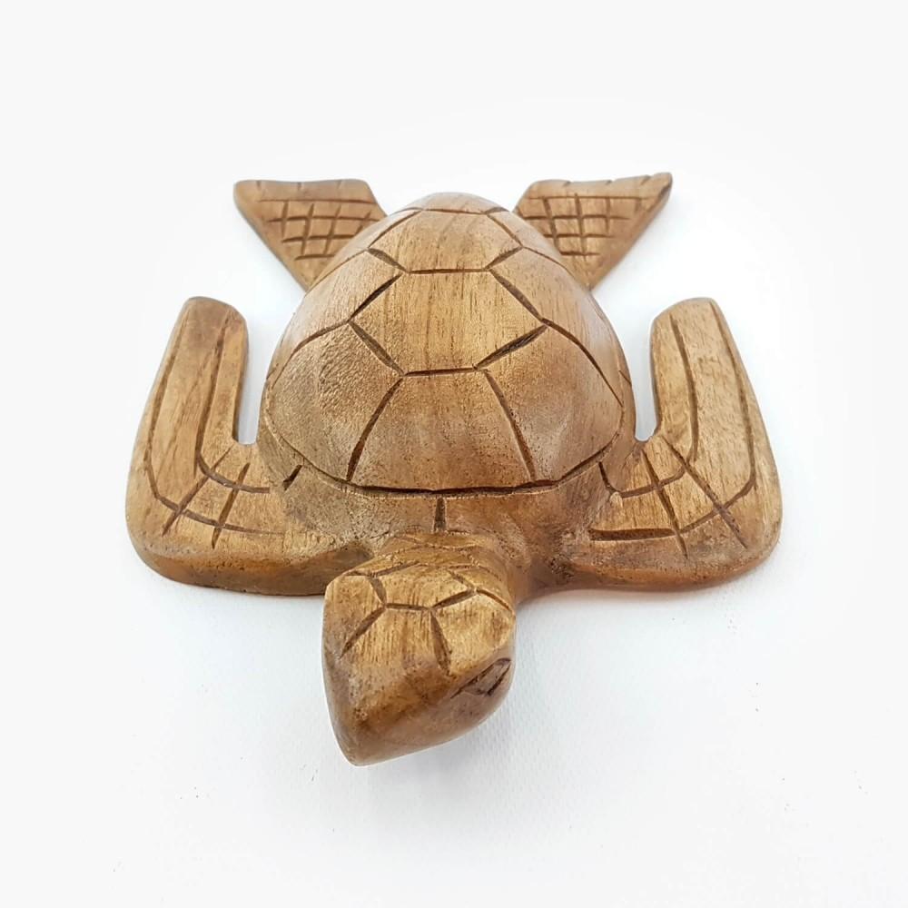 Escultura Tartaruga 20cm - Foto 2