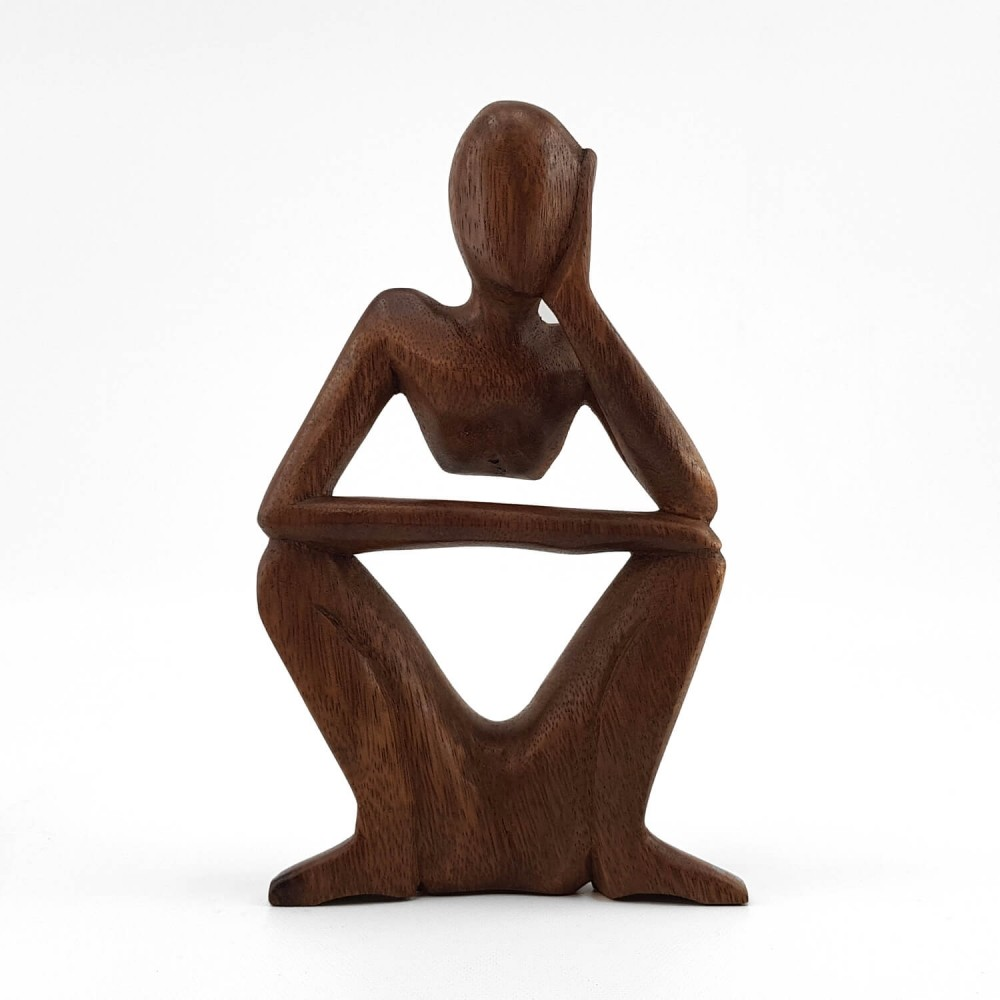 Escultura Pensativo 21cm - Foto 1