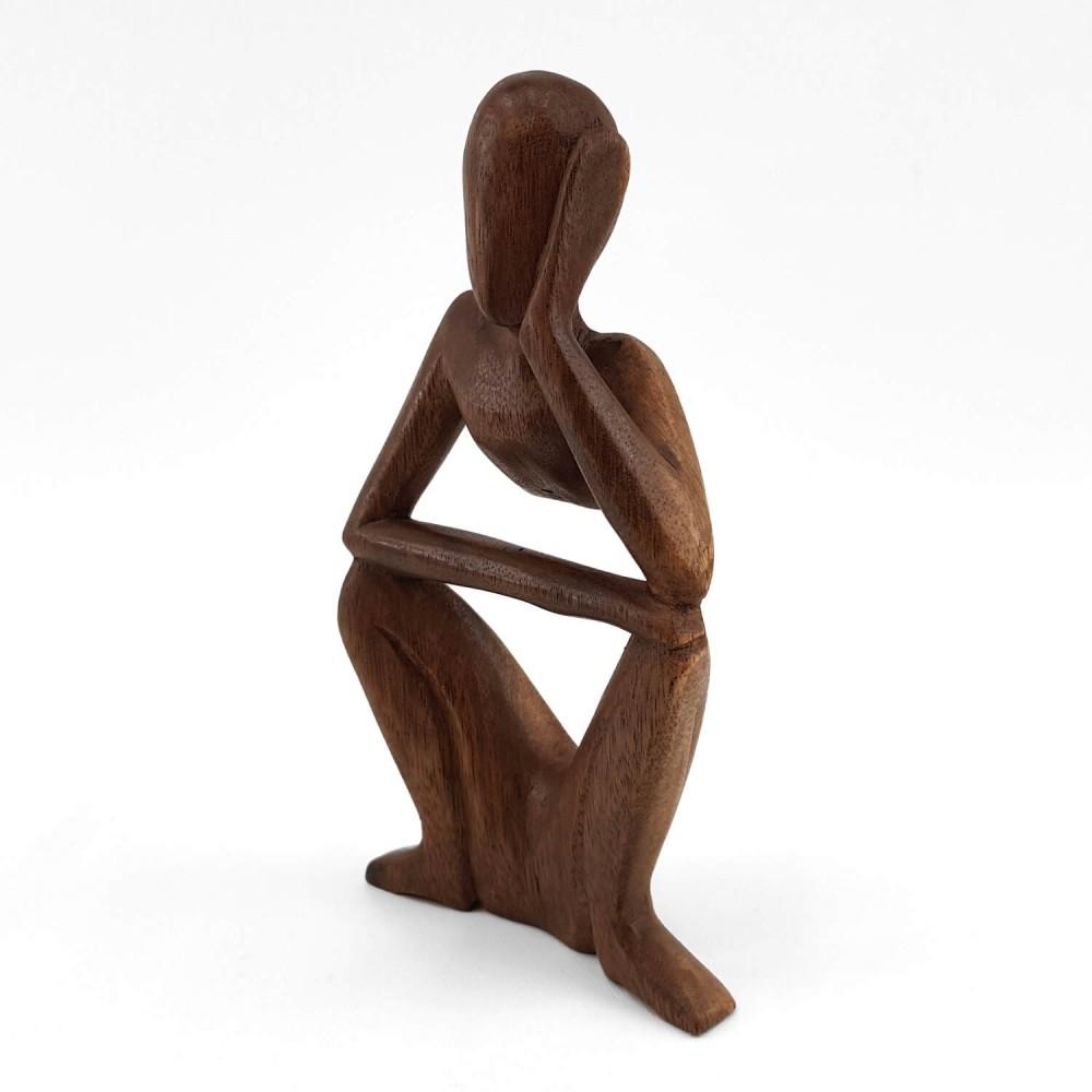 Escultura Pensativo 21cm - Foto 2