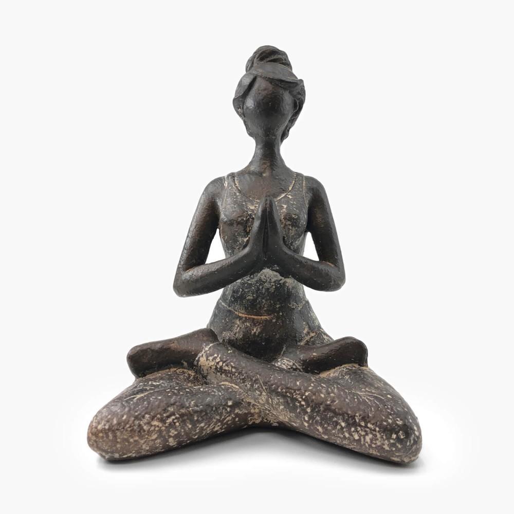 Estátua Yoga Provençal 2 - Foto 1