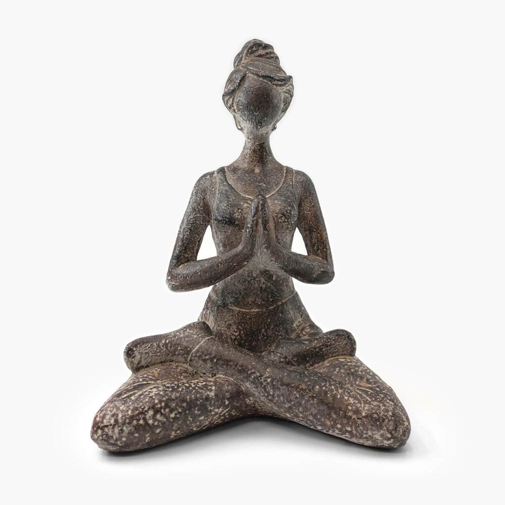 Estátua Yoga Provençal  - Foto 1