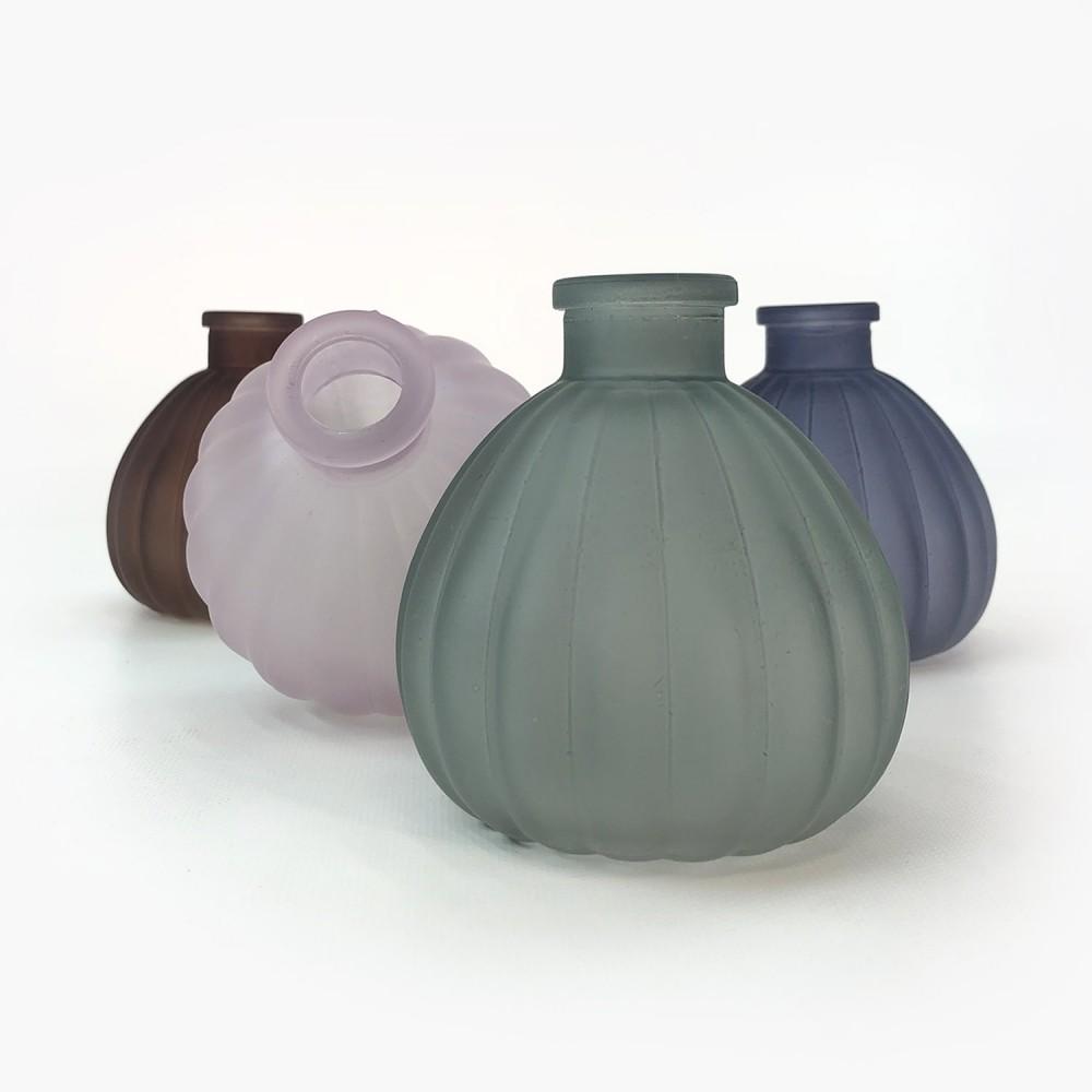Frasco vidro colorido 10cm  - Foto 3