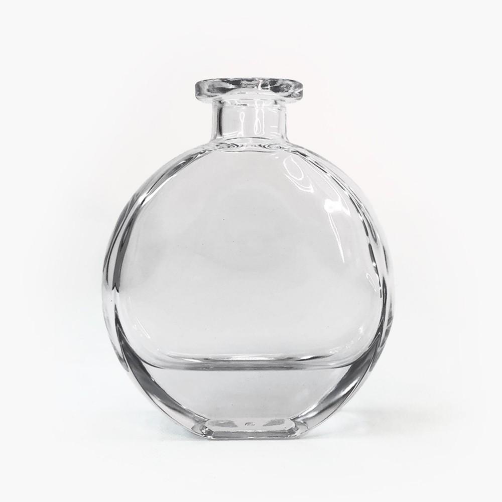 Frasco vidro transparente 12,5cm - Foto 1