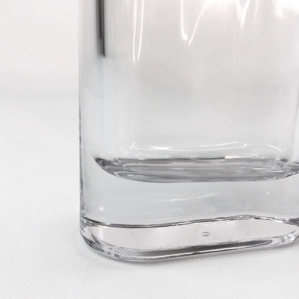 Frasco vidro transparente 12,5cm - Foto 3