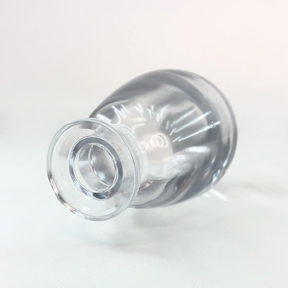 Frasco vidro transparente 12cm - Foto 2