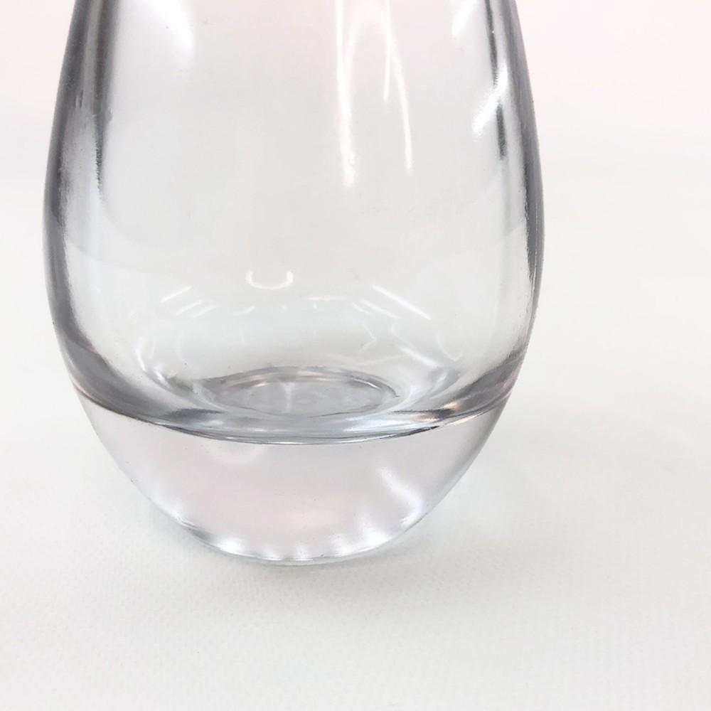 Frasco vidro transparente 12cm - Foto 3