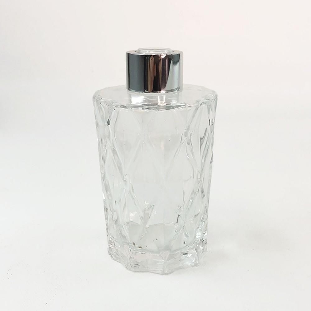 Frasco vidro transparente 12cm  - Foto 5