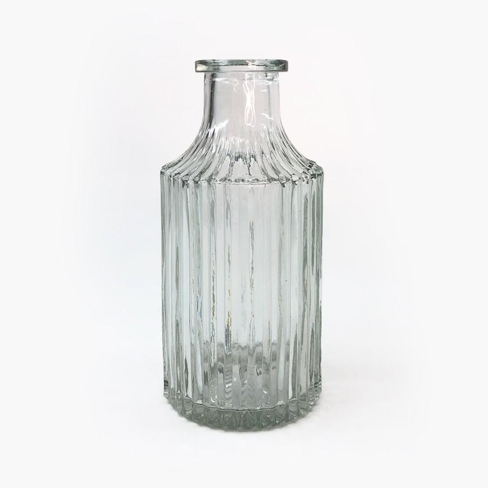 Frasco vidro transparente 14cm - Foto 1